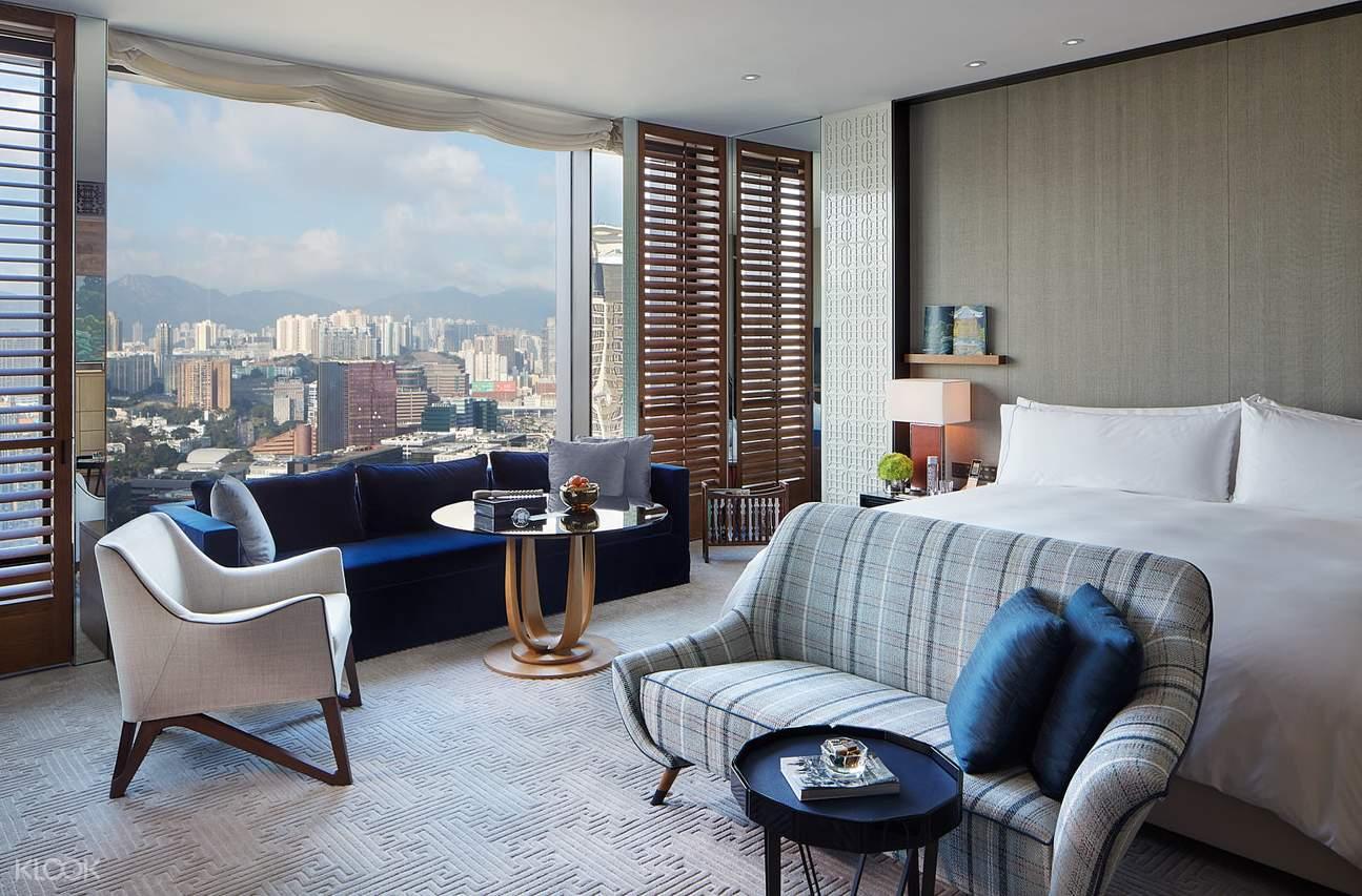 cozy king room interior design